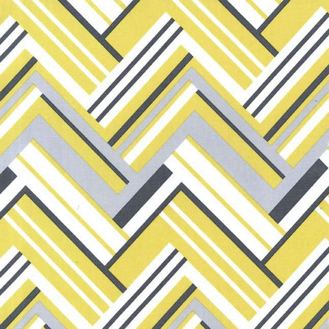 Virginia Flannel - Citron Gray