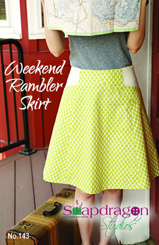 Weekend Rambler Skirt (Print)