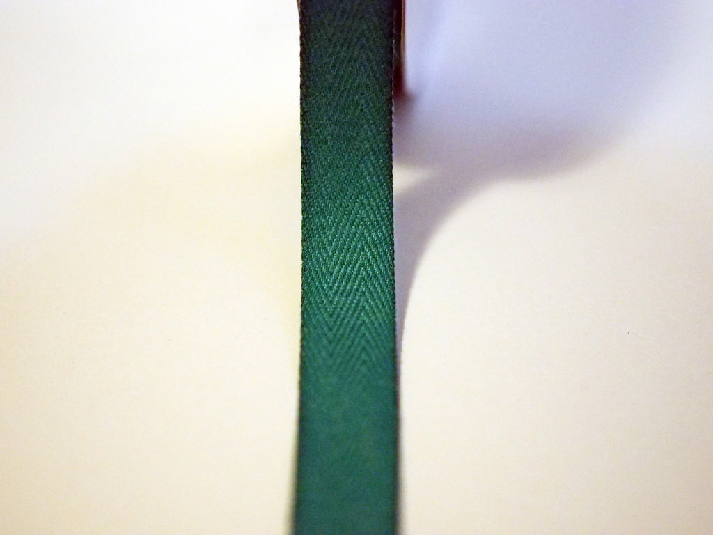 "5/8"" Solid Teal Twill Tape"