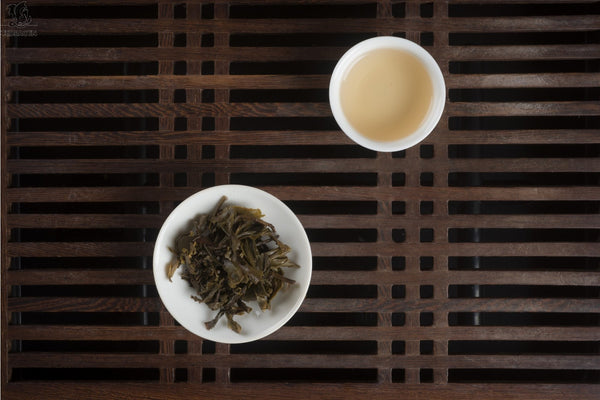 Rå (Sheng) Puer, mini toucha, 2010