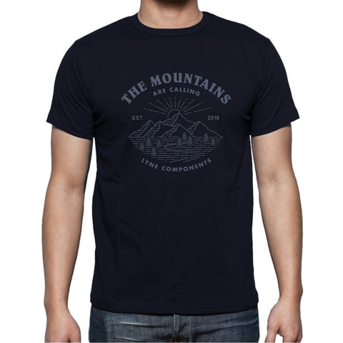 Lyne Mountains Are Calling - Navy Blue