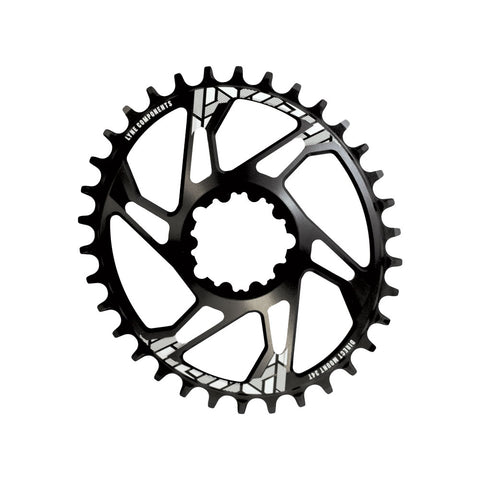 Oval Pulse/Sram Compatible Direct Mount Chainring 34T- Non Boost