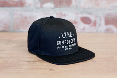 Lyne Snap Back Cap- Black/Grey