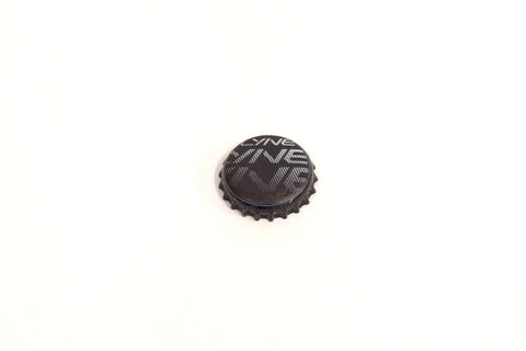 Bottle Cap- Lyne Black