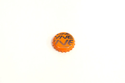 Bottle Cap- Lyne Orange