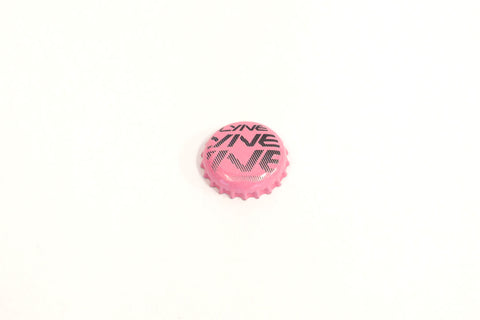 Bottle Cap- Lyne Pink