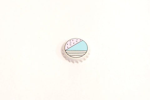 Bottle Cap- Pastel