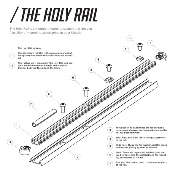 Holy Rail Kit - 700mm