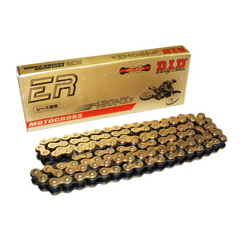 DID 420 ER Gold Motorcycle Chain