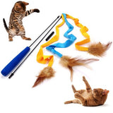 3 Soft Strands Cat Wand