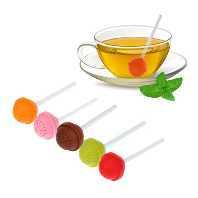 LolliPop Tea Infuser-Tea Infuser-Black Butterfly Bath & Body