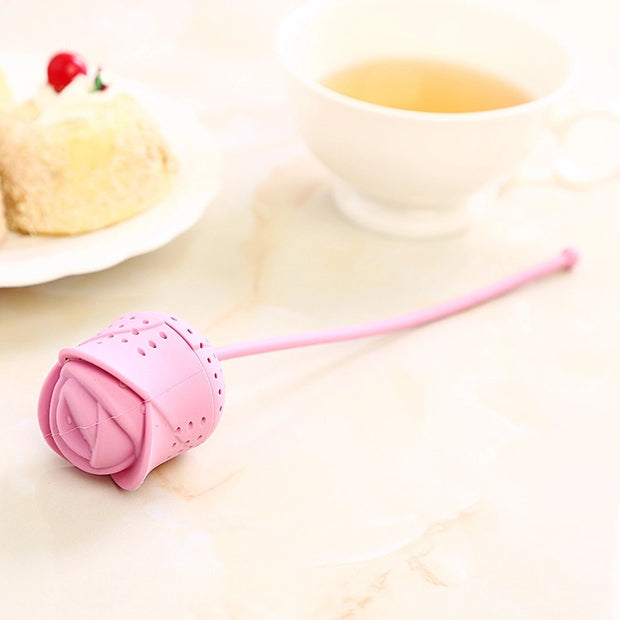 Rose Tea Infuser-Tea Infuser-Black Butterfly Bath & Body