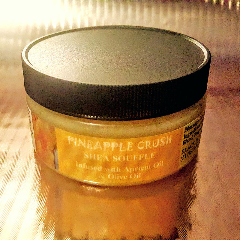 Pineapple Crush Body Souffle-Body Souffles-Black Butterfly Bath & Body