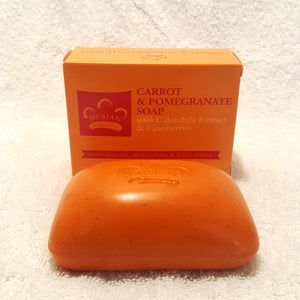 Carrot & Pomegranate Soap w/ Cranberries-Soap-Black Butterfly Bath & Body