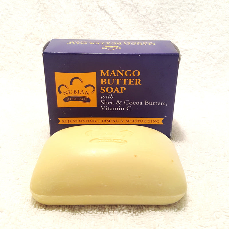 Mango Butter Soap w/Shea & Cocoa Butter-Soap-Black Butterfly Bath & Body