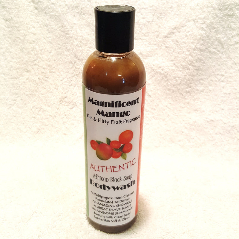 Marvelous Mango Black Soap Bodywash-Bodywash-Black Butterfly Bath & Body