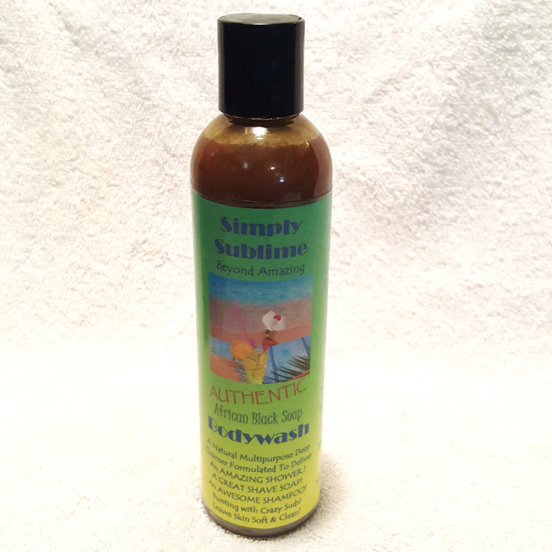 Simply Sublime Black Soap Bodywash-Bodywash-Black Butterfly Bath & Body