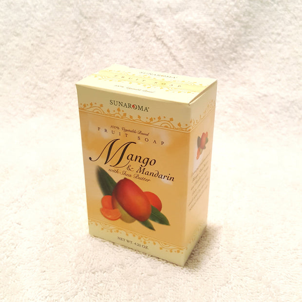 Mango & Mandarin Shea Butter Soap-Soap-Black Butterfly Bath & Body