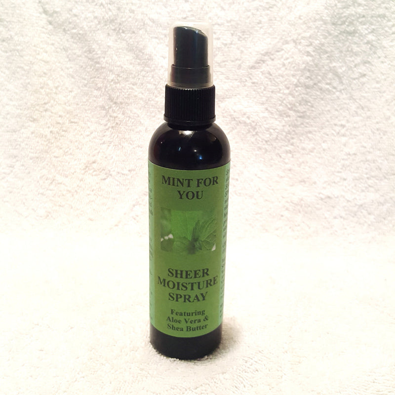 Mint For You Sheer Moisture Spray-Body Spray-Black Butterfly Bath & Body