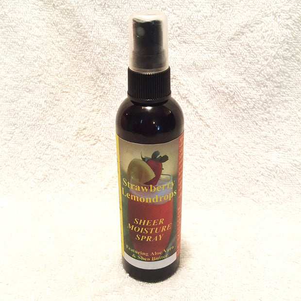 Strawberry Lemondrops Sheer Moisture Spray-Body Spray-Black Butterfly Bath & Body