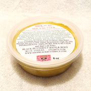 Raw Shea Butter-Unrefined Shea Butter-Black Butterfly Bath & Body