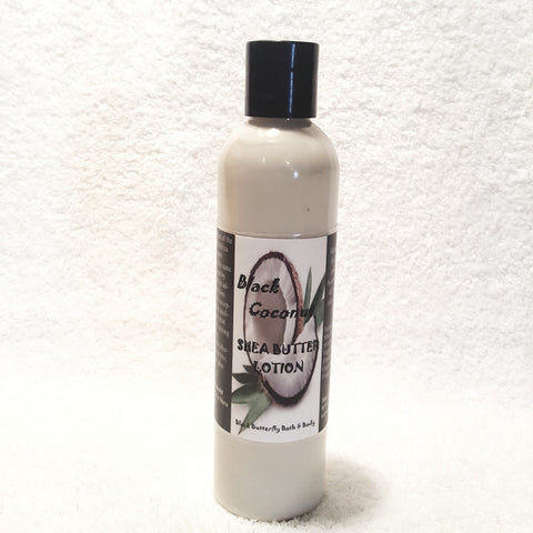 Black Coconut Shea Butter Lotion