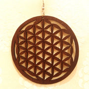Intricate Cutout Wood Earrings-Earrings-Black Butterfly Bath & Body