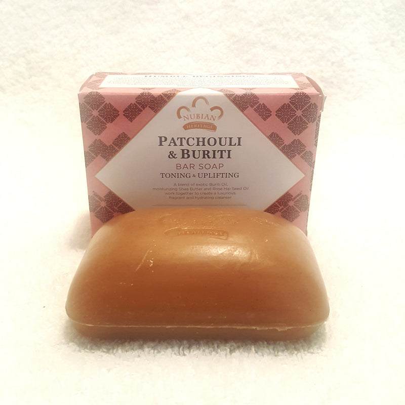 Patchouli & Bruitti Soap with Shea Butter & Rose Hips-Soap-Black Butterfly Bath & Body