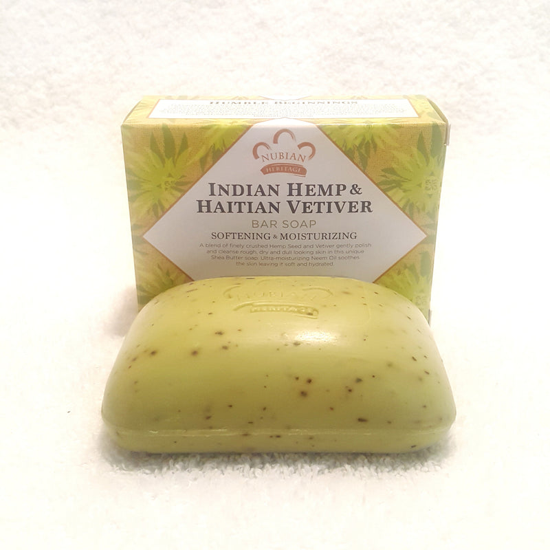 Indian Hemp & Haitian Vetiver & Neem Oil-Soap-Black Butterfly Bath & Body
