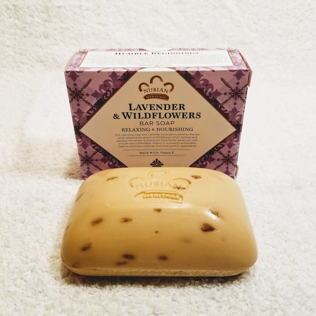 Lavender & Wildflower Shea Butter Soap