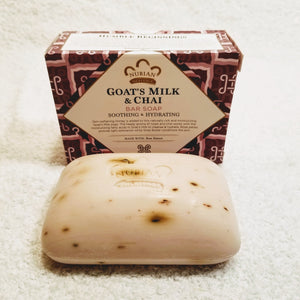 Goat's Milk & Chai Soap w/ Rose Extract