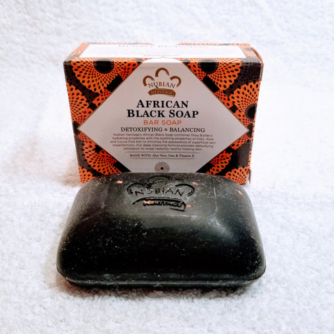 African Black Soap w/ Oats & Aloe