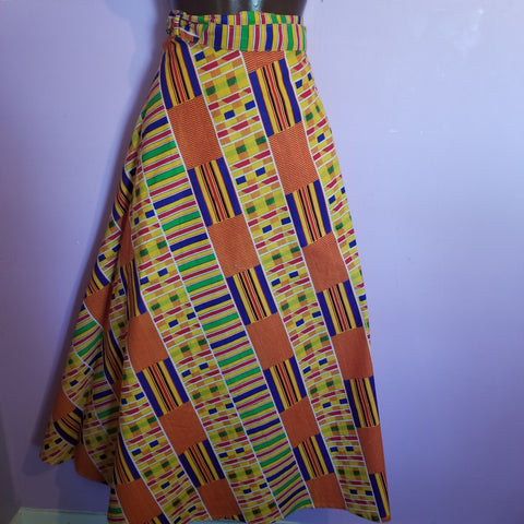 Kente Wrap Skirt