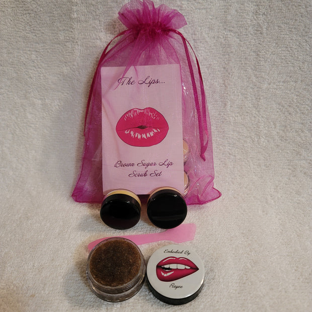 The Cocoa Butter Lip Scrub Set