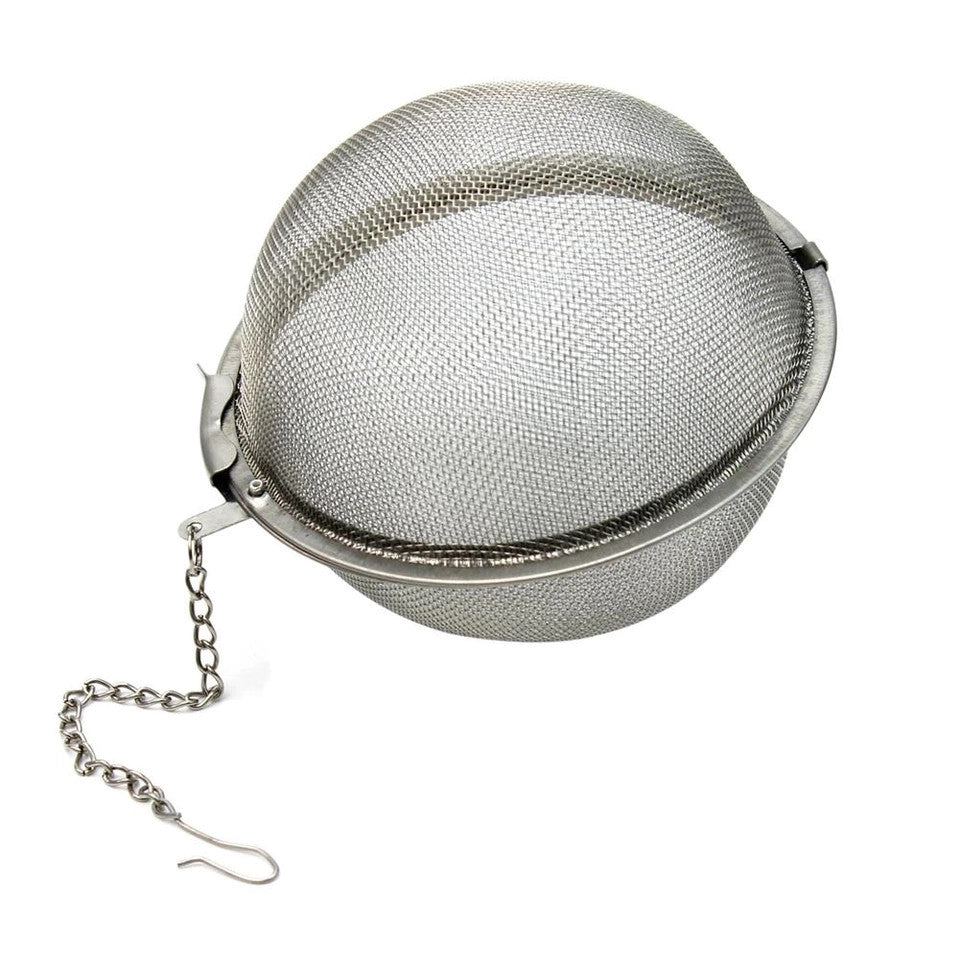 Large Stainless Steel Tea Infuser Ball-Tea Infuser-Black Butterfly Bath & Body