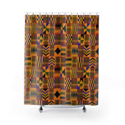 Kente Classic Shower Curtain