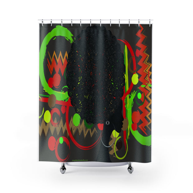 Afro Queendom Shower Curtain
