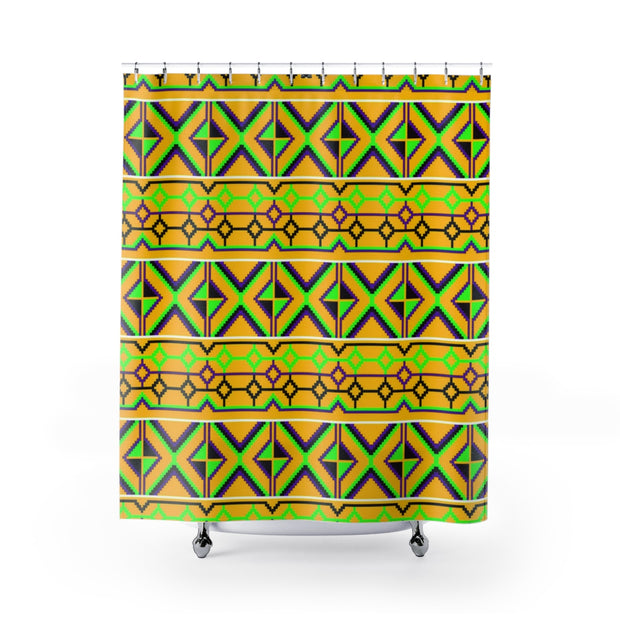 The Serengeti Shower Curtain