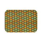 Ankara Links Bath Mat
