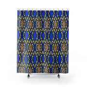Ankara Shining Star Shower Curtain