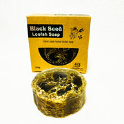 Black Seed Loofah Soap