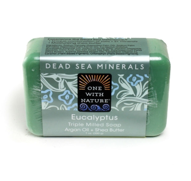 Eucalyptus Triple Milled Mineral Soap