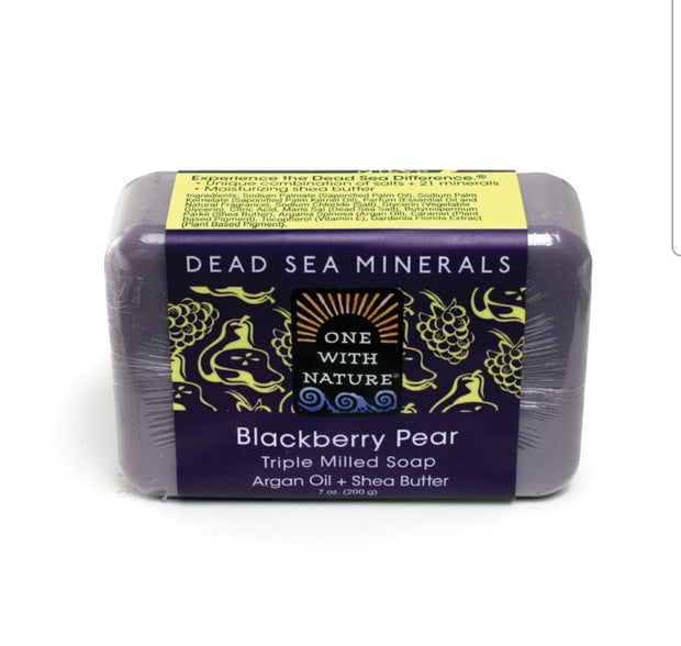 Dead Sea Mineral Blackberry Pear Soap