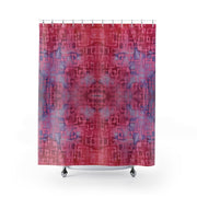 Pink Batik Shower Curtains