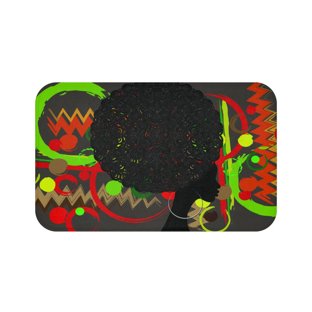 Afro Queedom Bath Mat