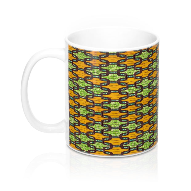 Ankara Links Mug 11oz