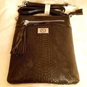 CrossBody Black-Purse-Black Butterfly Bath & Body