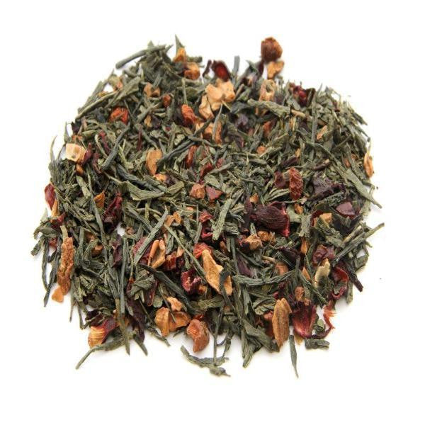 Fresh Phrase Organic Green Tea w/ Strawberry Pieces
