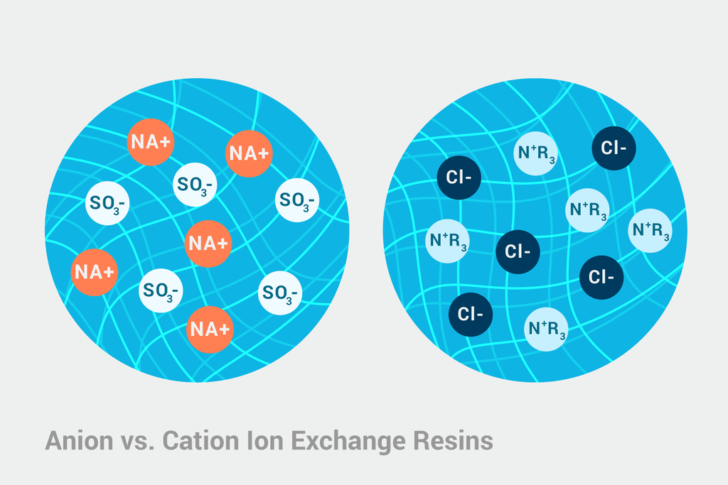 Anion versus Cation Exchange Resins