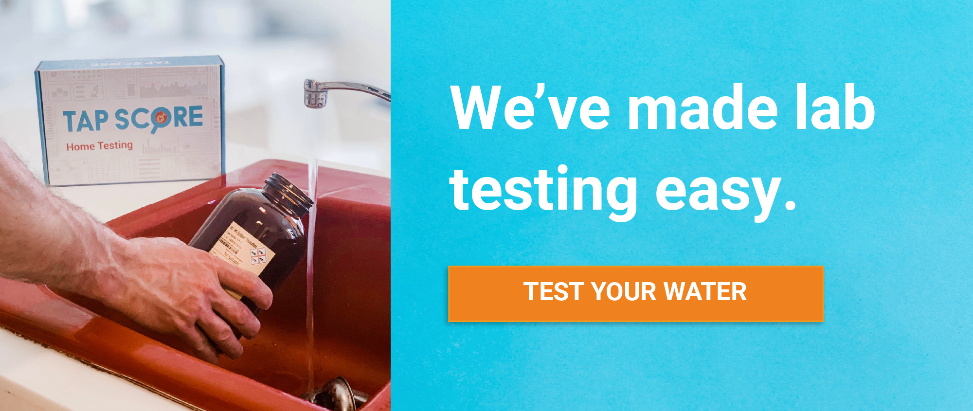 Certified Laboratory Water Testing with Tap Score